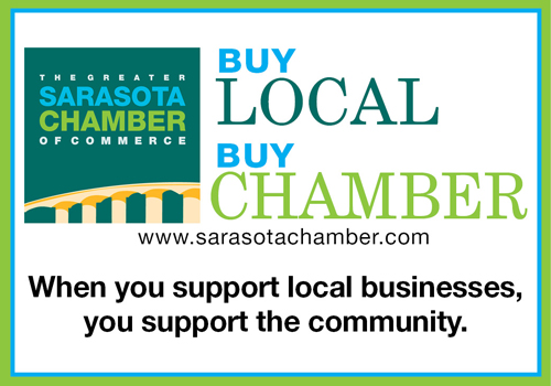 Sarasota Chamber of Commerce - buy local ad 10-7-2013