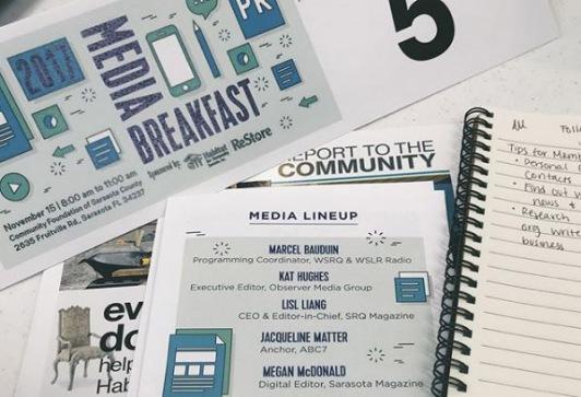 media breakfast